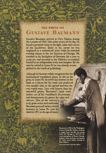 The Press of Gustave Baumann