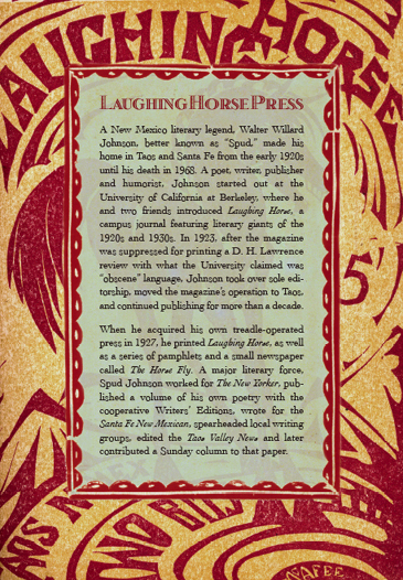 The Laughing Horse Press